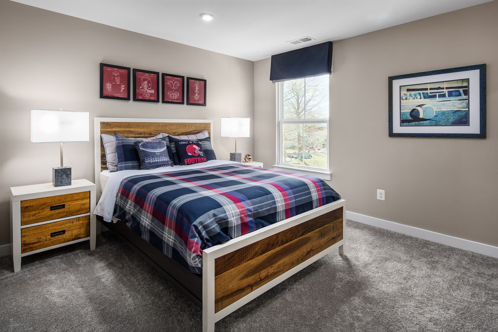 Bedroom featured in the Corsica By Ryan Homes in Washington, VA