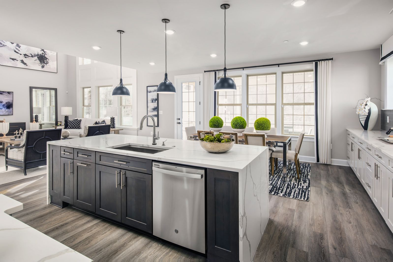 Kitchen featured in the Stratford Hall By NVHomes in Sussex, DE