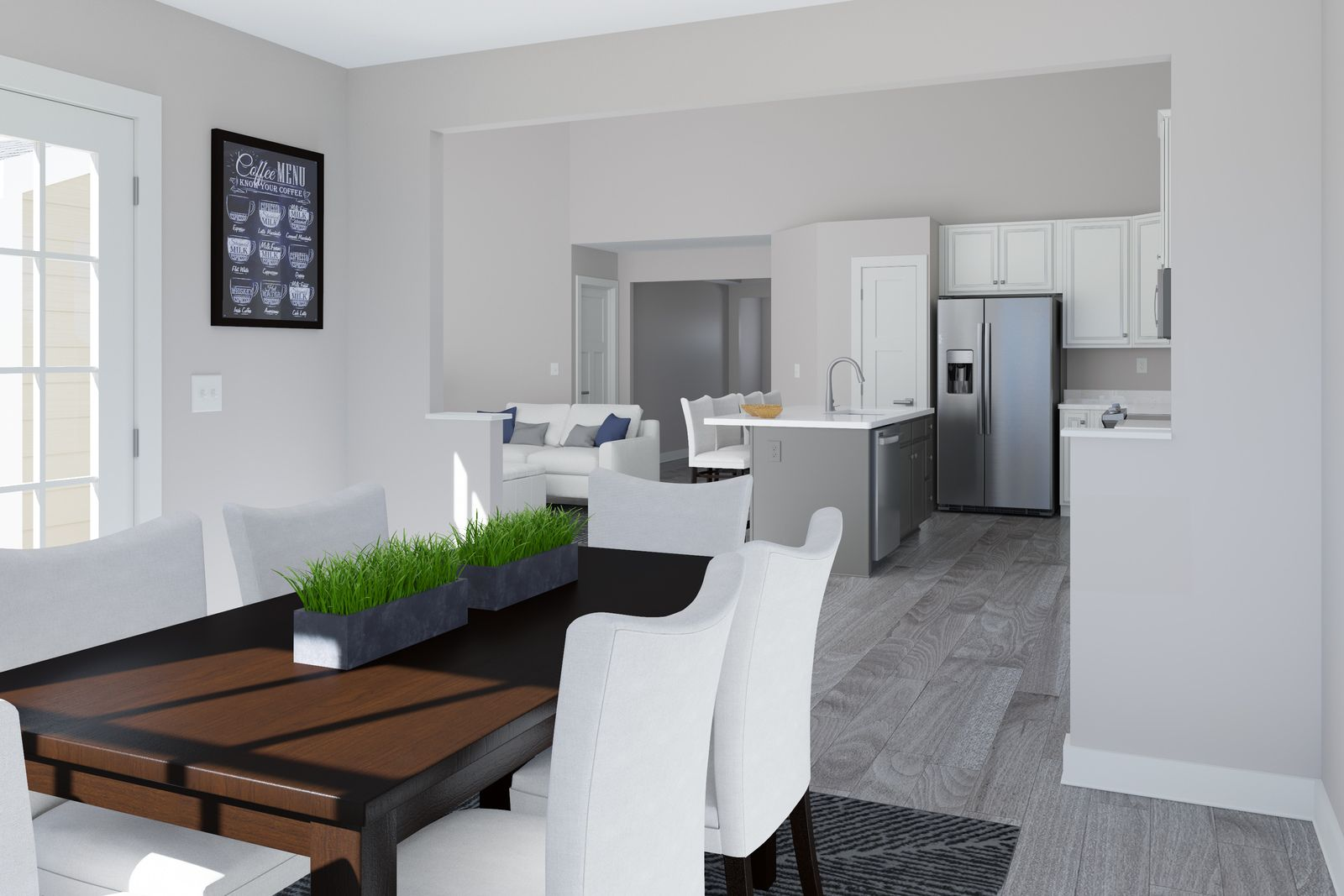 Living Area featured in the Pisa Torre By Ryan Homes in Dayton-Springfield, OH
