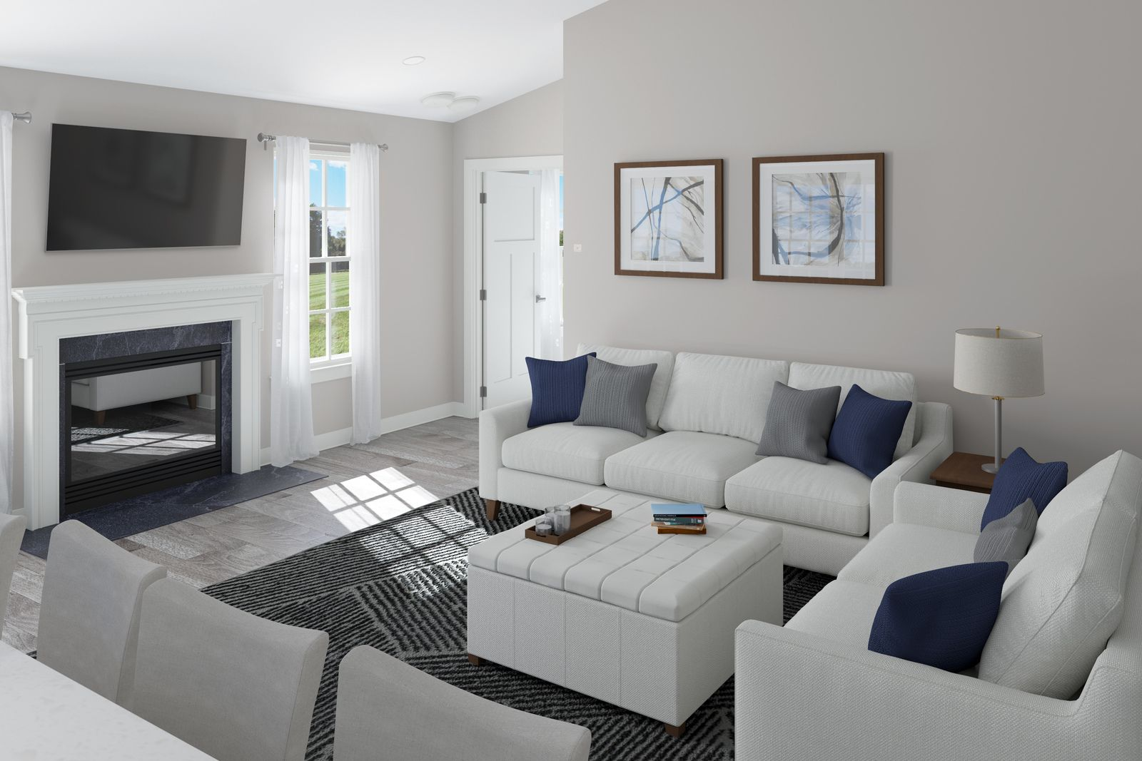 Living Area featured in the Pisa Torre By Ryan Homes in Harrisburg, PA
