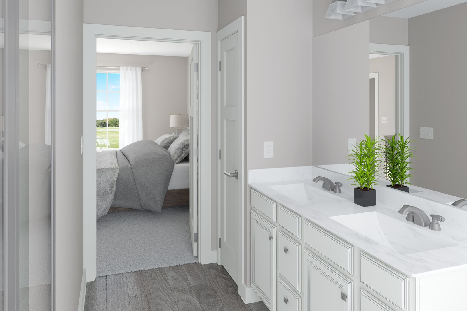 Bathroom featured in the Pisa Torre By Ryan Homes in Dayton-Springfield, OH