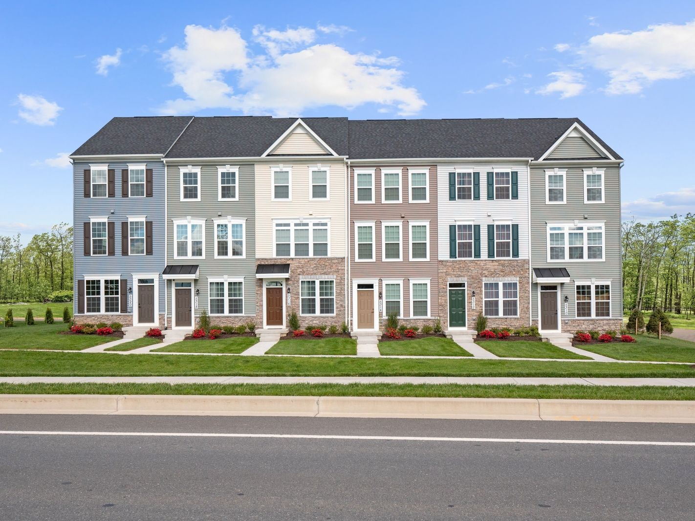 Exterior featured in the Clarendon By Ryan Homes in Baltimore, MD