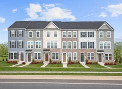 Clarendon 3 Story - Elkridge Crossing: Elkridge, Maryland - Ryan Homes