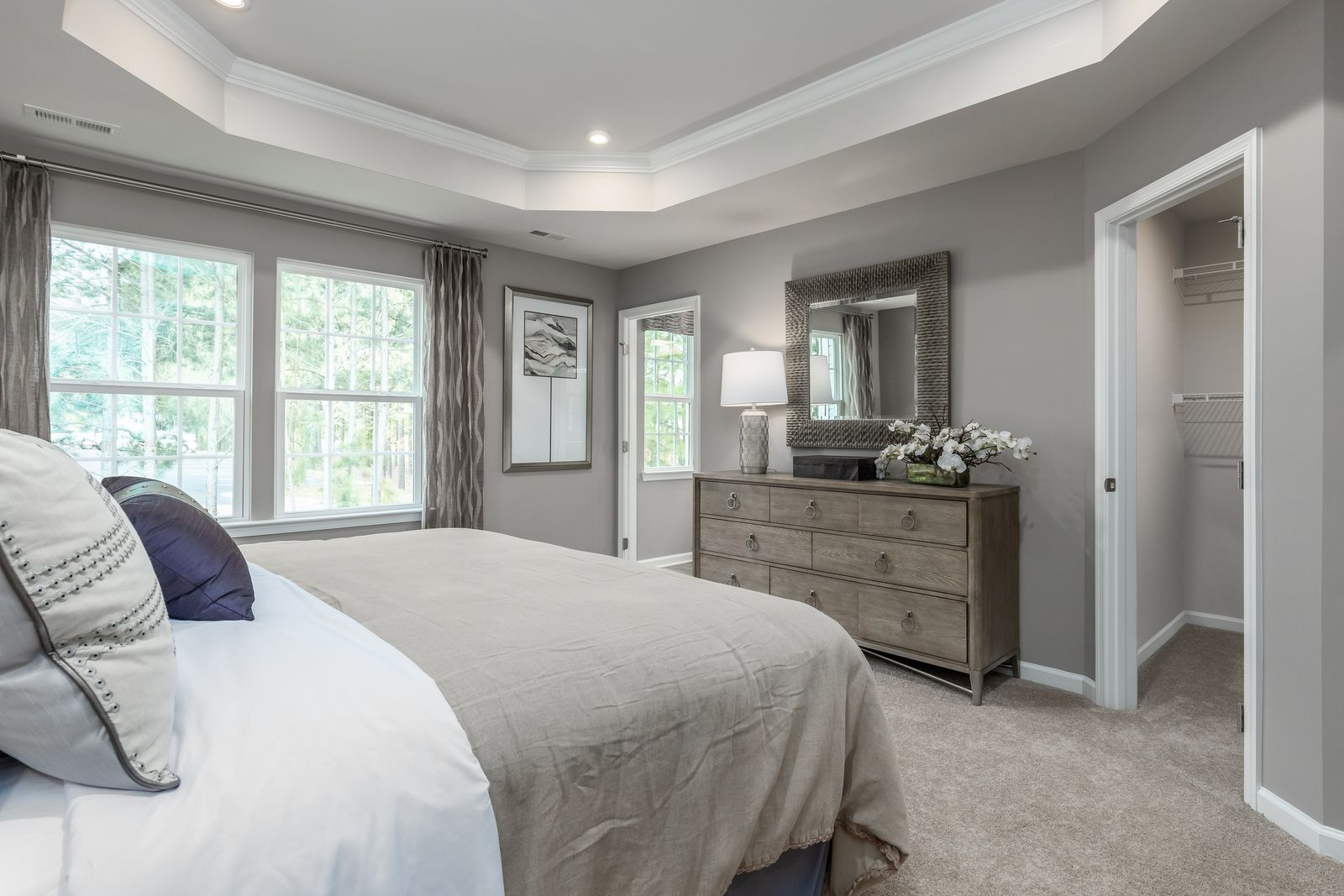 Bedroom featured in the Mozart By Ryan Homes in Pittsburgh, PA