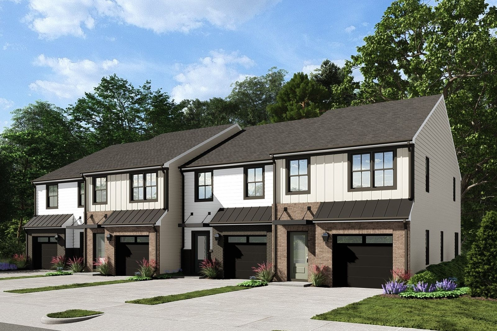Exterior featured in the Odessa By Ryan Homes in Greenville-Spartanburg, SC