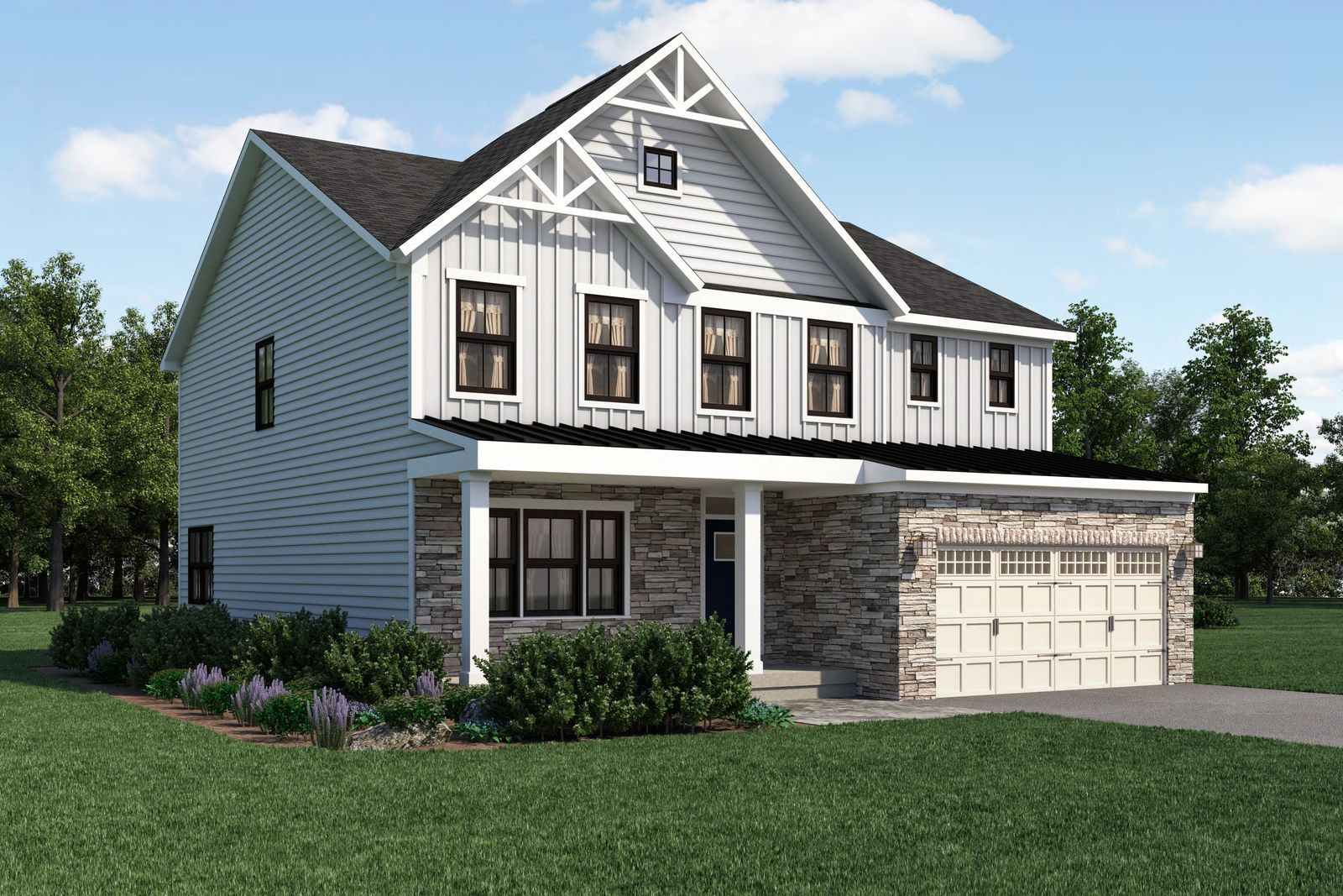 Exterior featured in the Lehigh By Ryan Homes in Norfolk-Newport News, VA