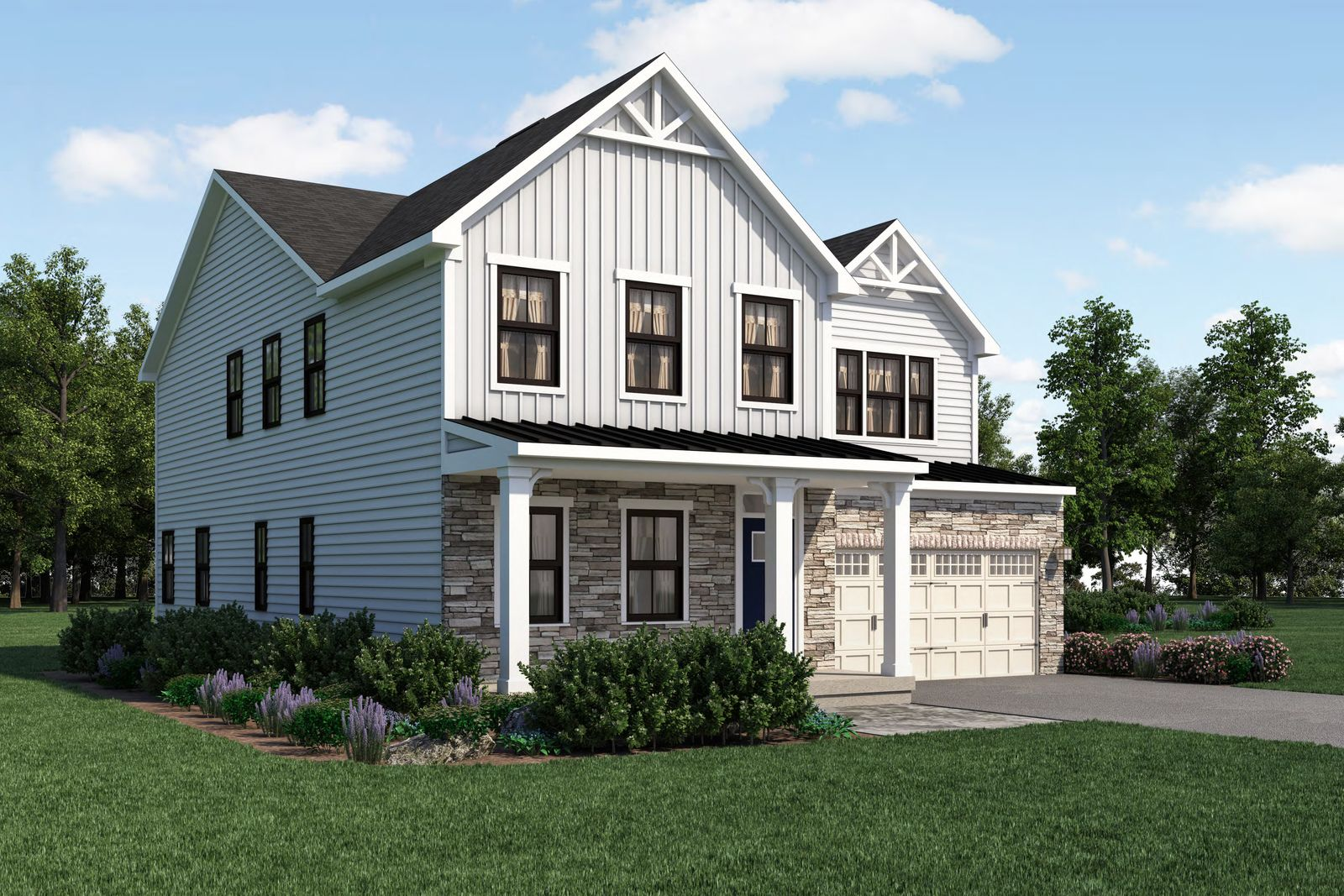 Exterior featured in the Seneca By Ryan Homes in Wilmington-Newark, DE