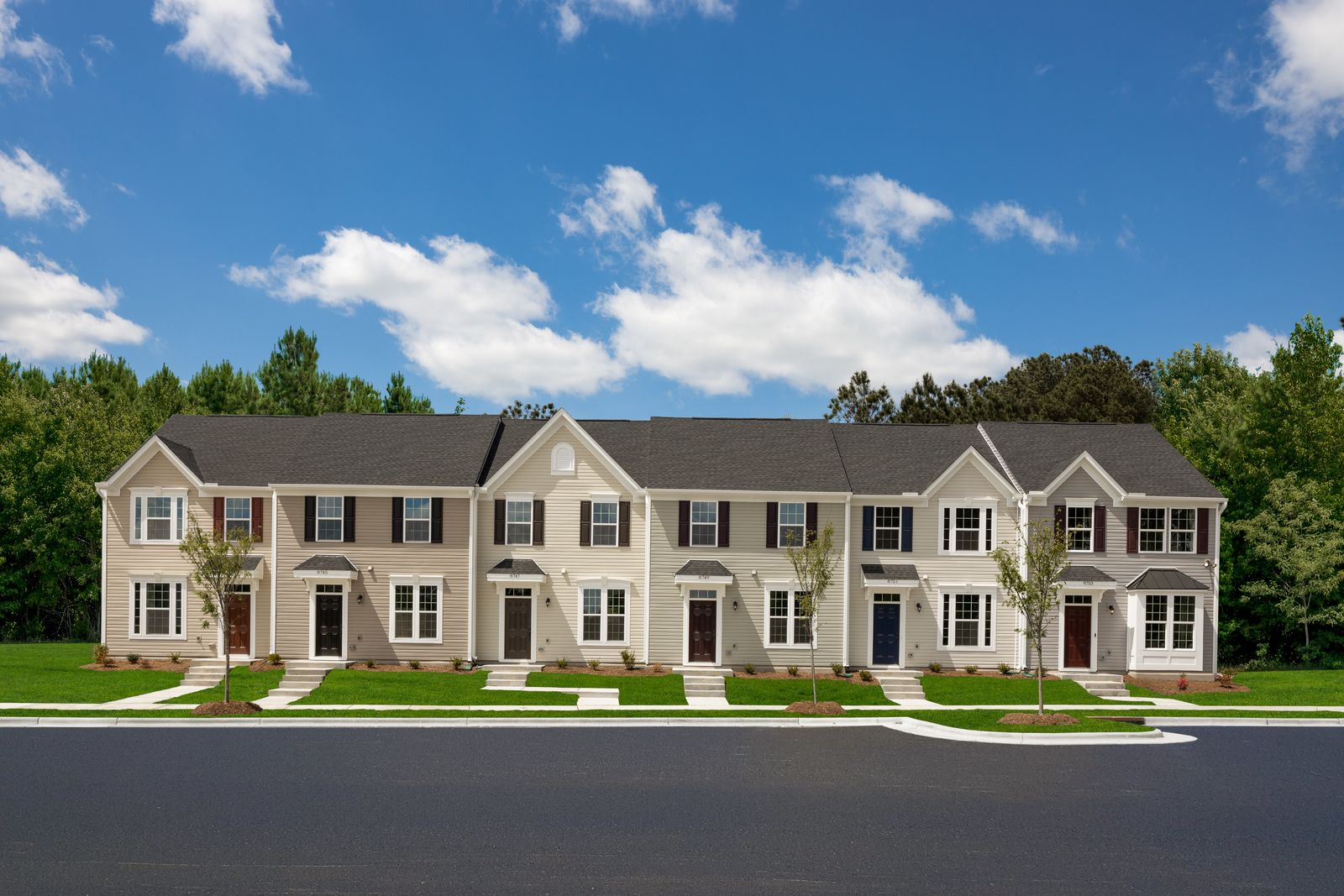 Exterior featured in the Beethoven 2-Story By Ryan Homes in Raleigh-Durham-Chapel Hill, NC