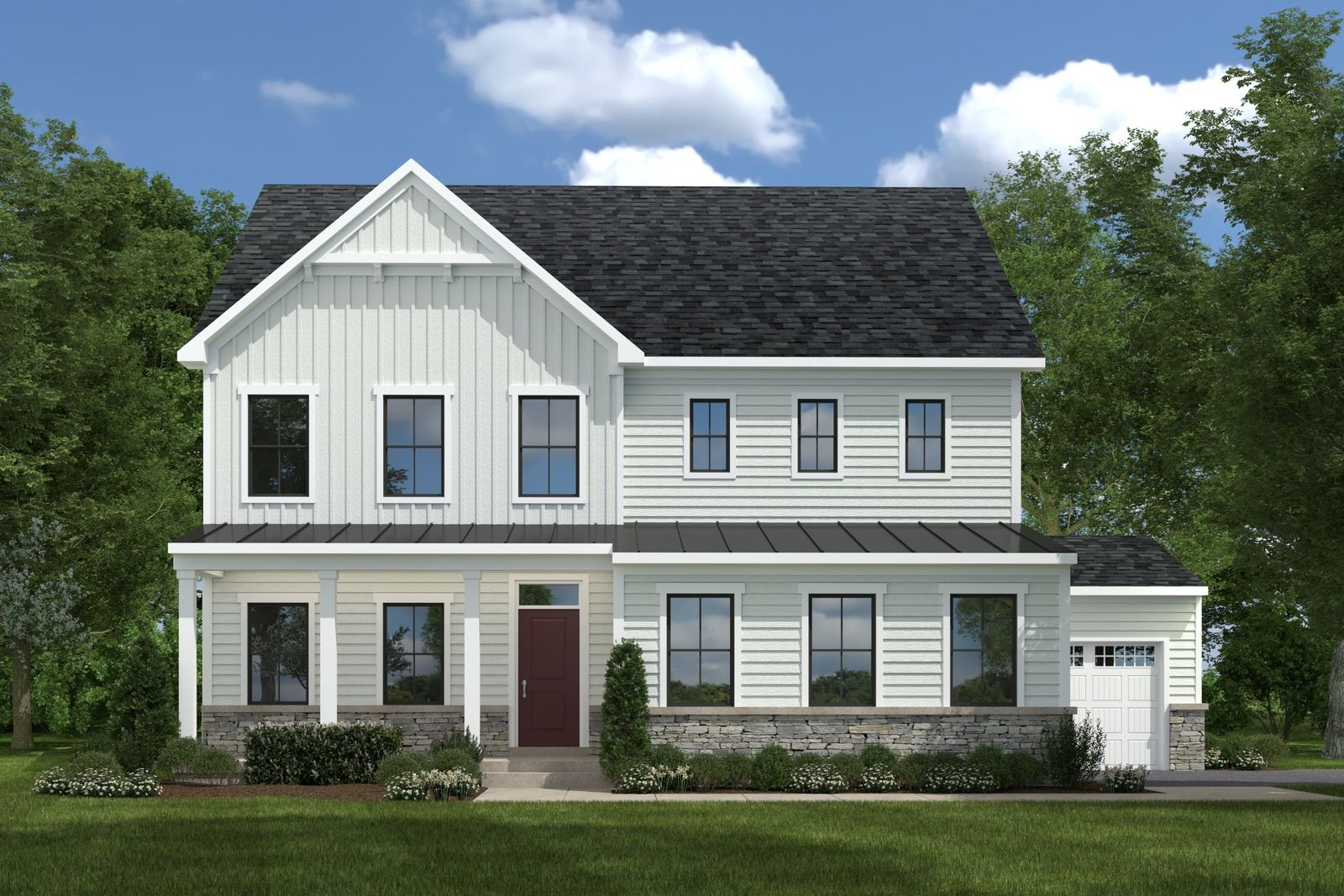 Exterior featured in the Lehigh at Hartland By Ryan Homes in Washington, VA