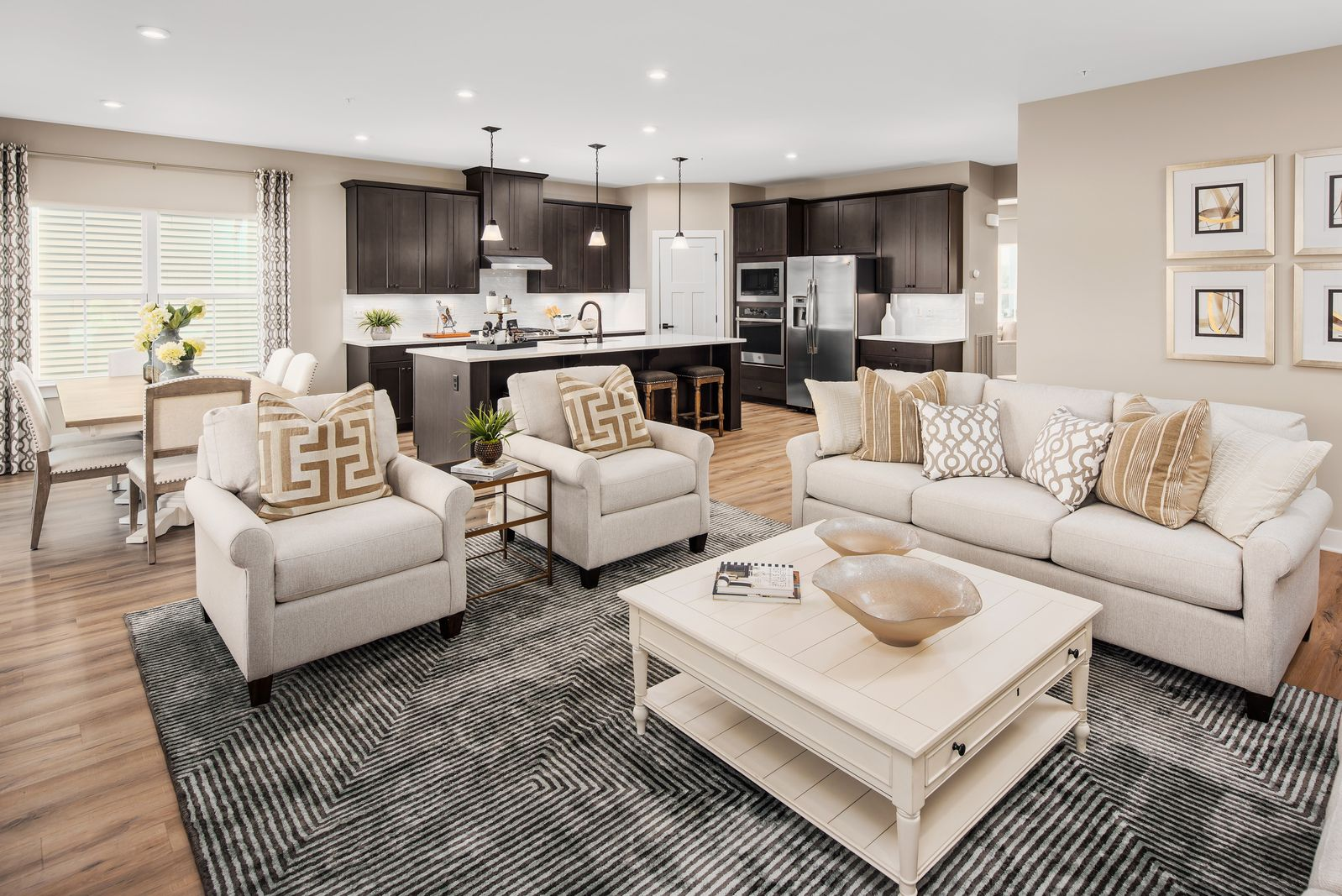 Living Area featured in the Lehigh at Hartland By Ryan Homes in Washington, VA