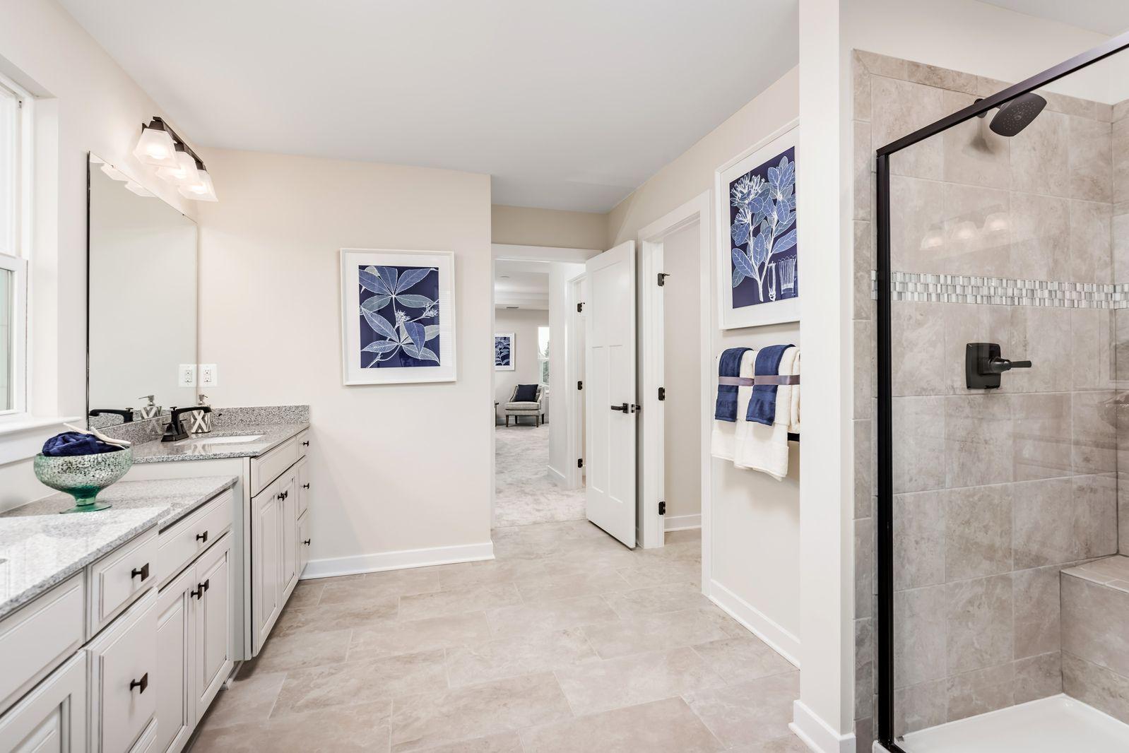 Bathroom featured in the York at Hartland By Ryan Homes in Washington, VA