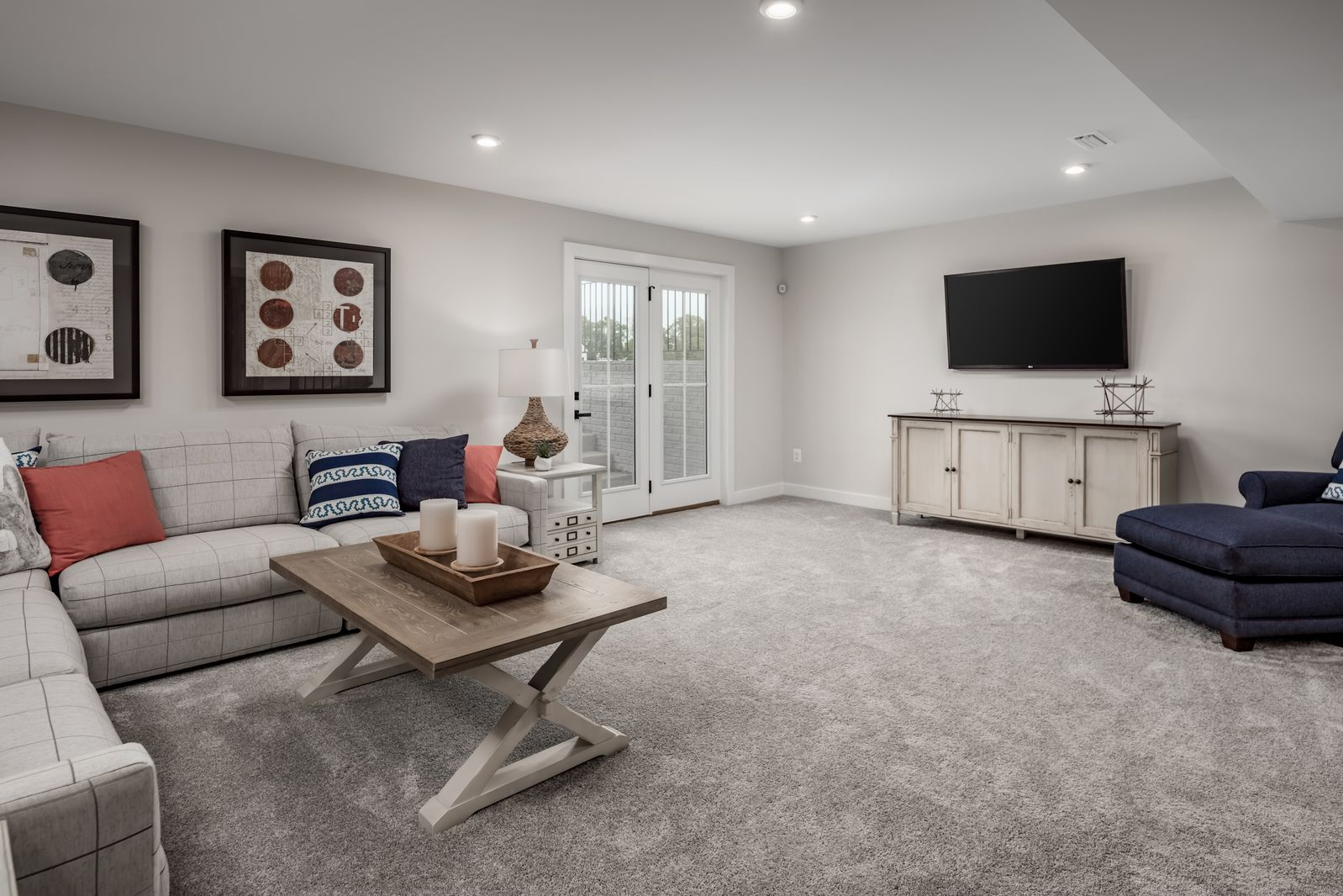Living Area featured in the York at Hartland By Ryan Homes in Washington, VA