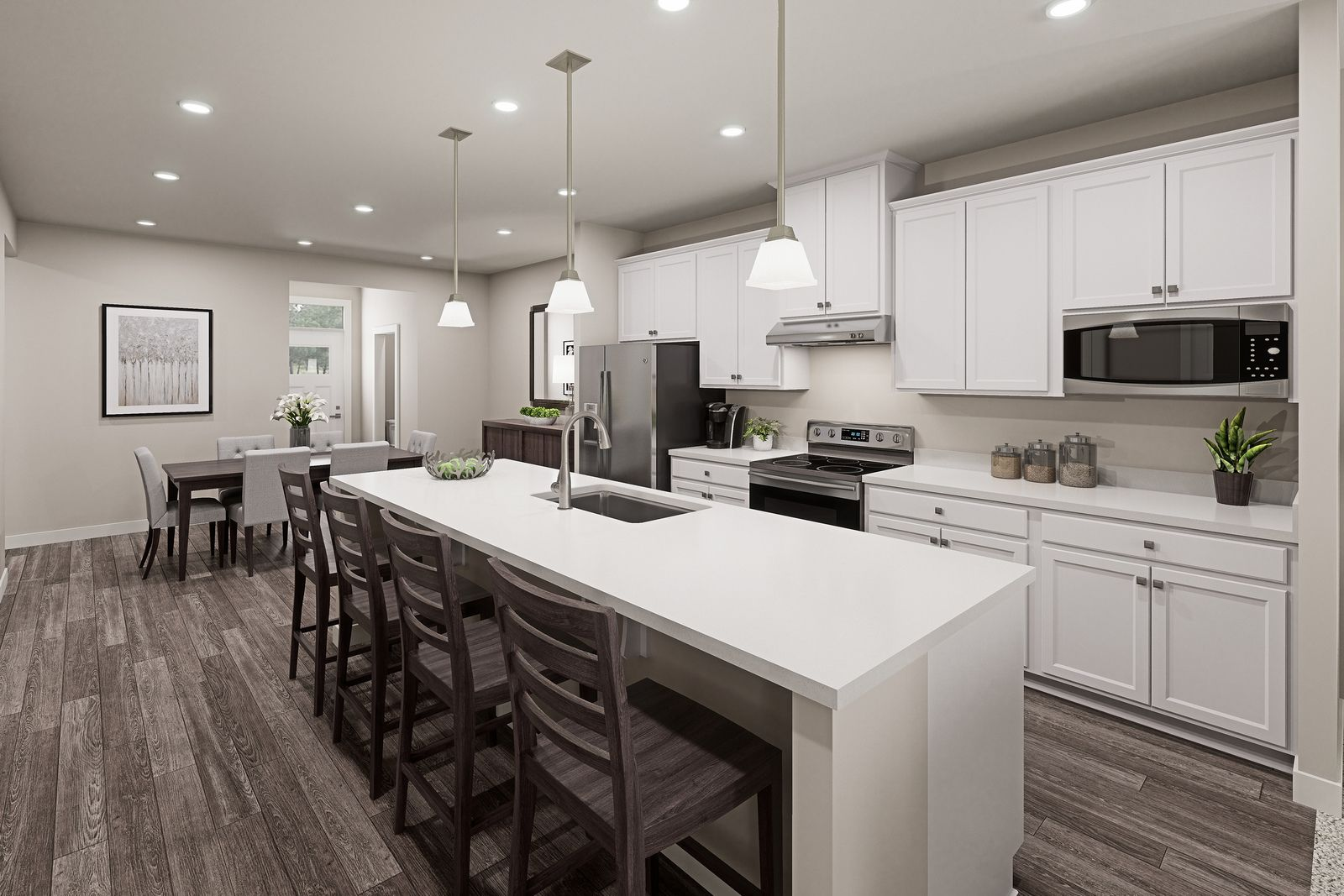Kitchen featured in the Caroline G By Ryan Homes in Akron, OH