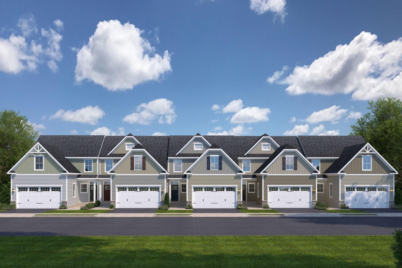 Exterior featured in the Calvert By Ryan Homes in Buffalo-Niagara Falls, NY