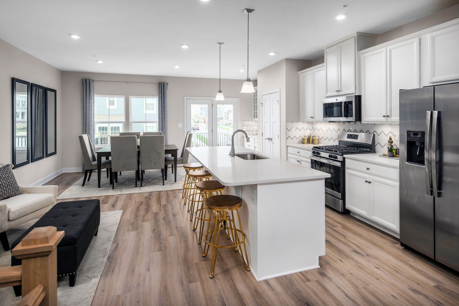 Kitchen featured in the Strauss 2-Car Garage By Ryan Homes in Baltimore, MD
