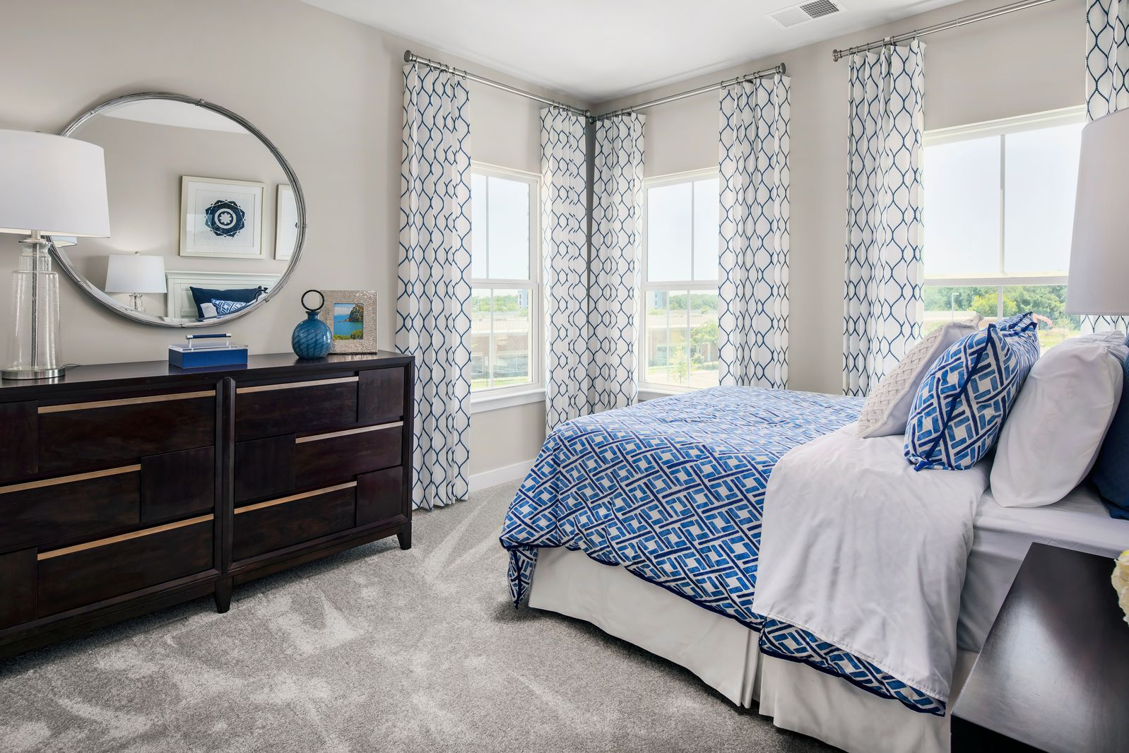 Bedroom featured in the McPherson Grand Rear Entry By NVHomes in Baltimore, MD