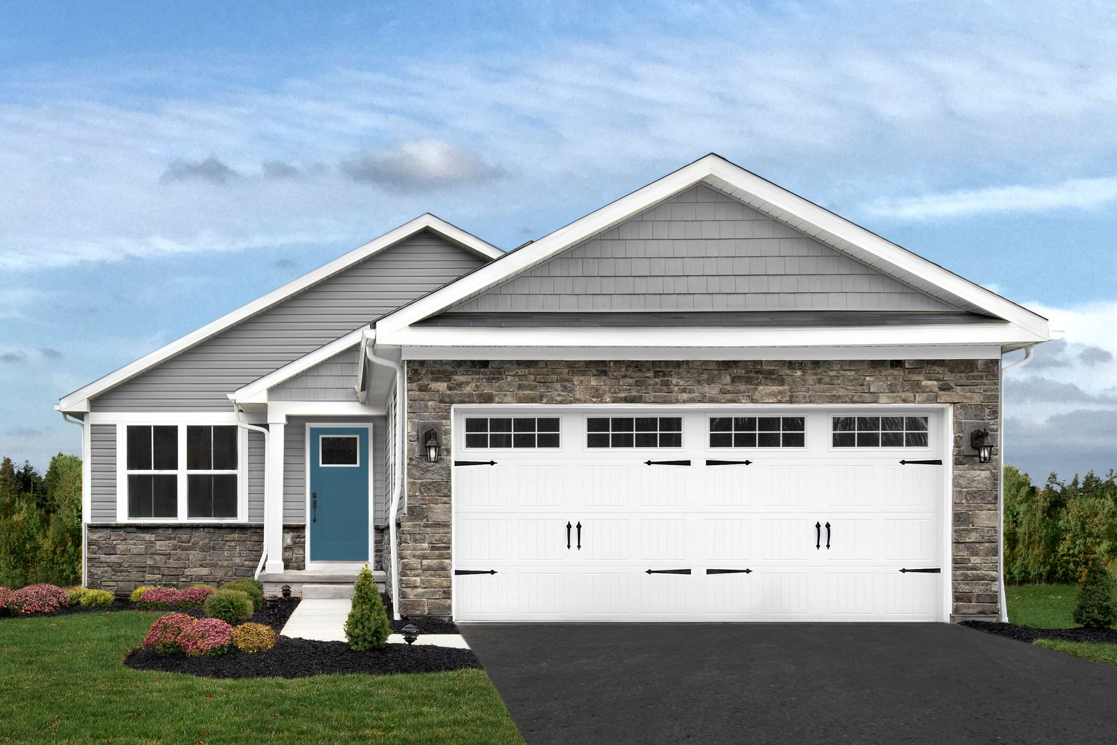 Exterior featured in the Aruba Bay By Ryan Homes in Philadelphia, NJ