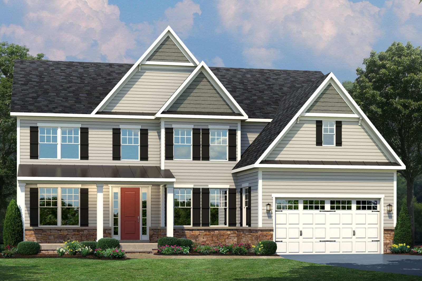 Exterior featured in the Radford By NVHomes in Washington, MD