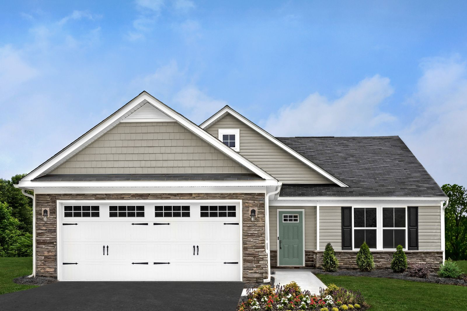 Exterior featured in the Grand Cayman By Ryan Homes in Philadelphia, NJ