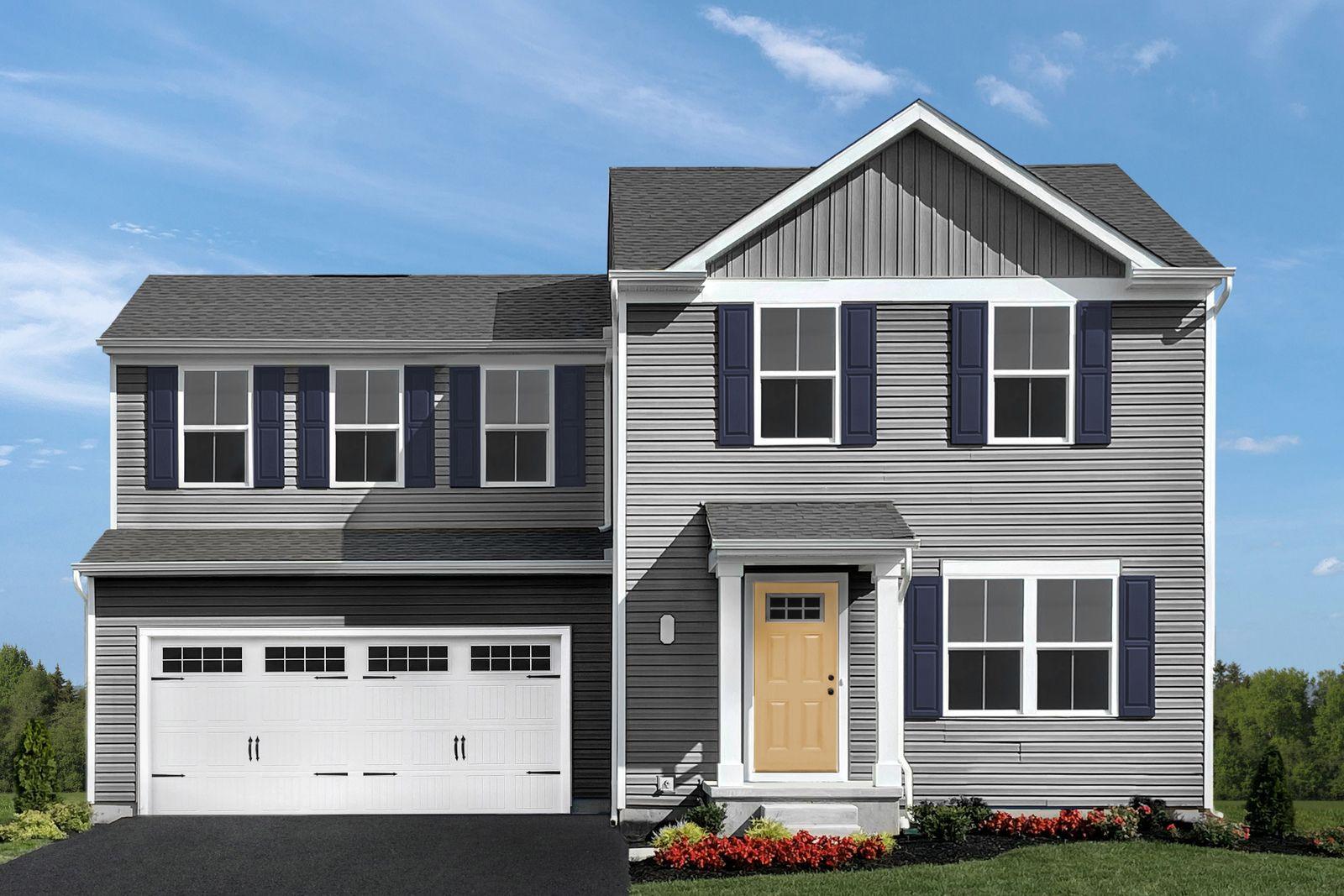 Exterior featured in the Aspen By Ryan Homes in Harrisonburg, VA