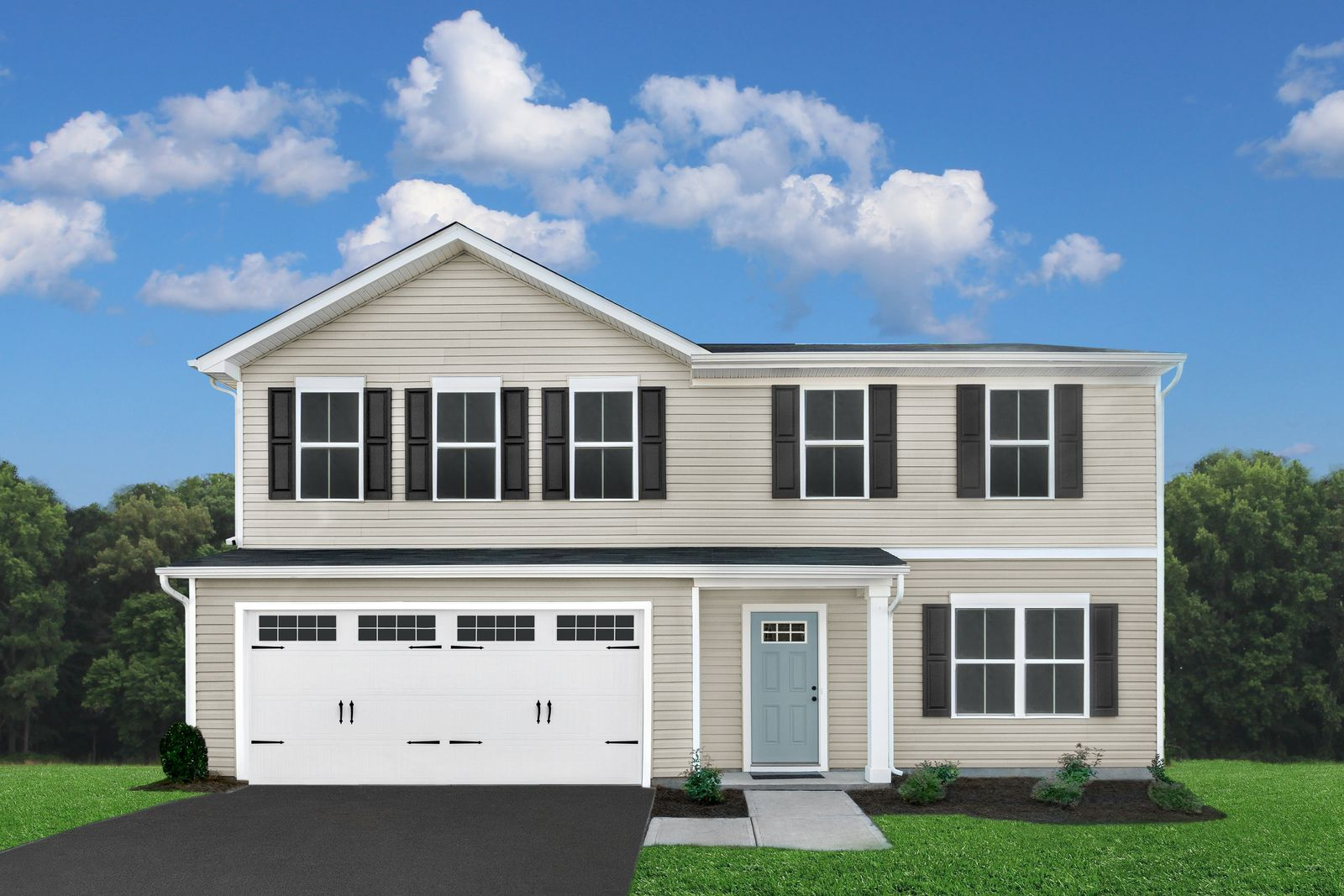 Exterior featured in the Cedar By Ryan Homes in Harrisonburg, VA