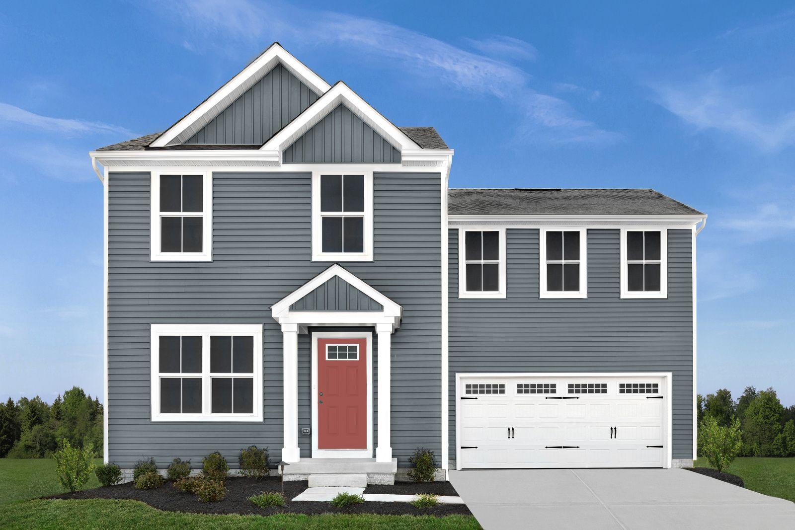 Exterior featured in the Birch By Ryan Homes in Harrisonburg, VA