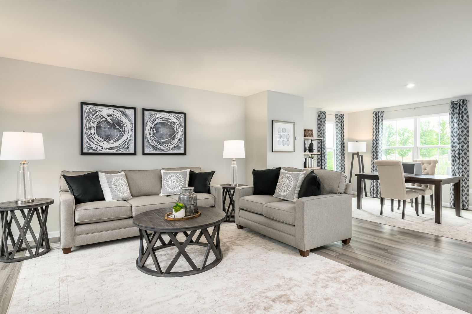 Living Area featured in the Elm By Ryan Homes in Cleveland, OH