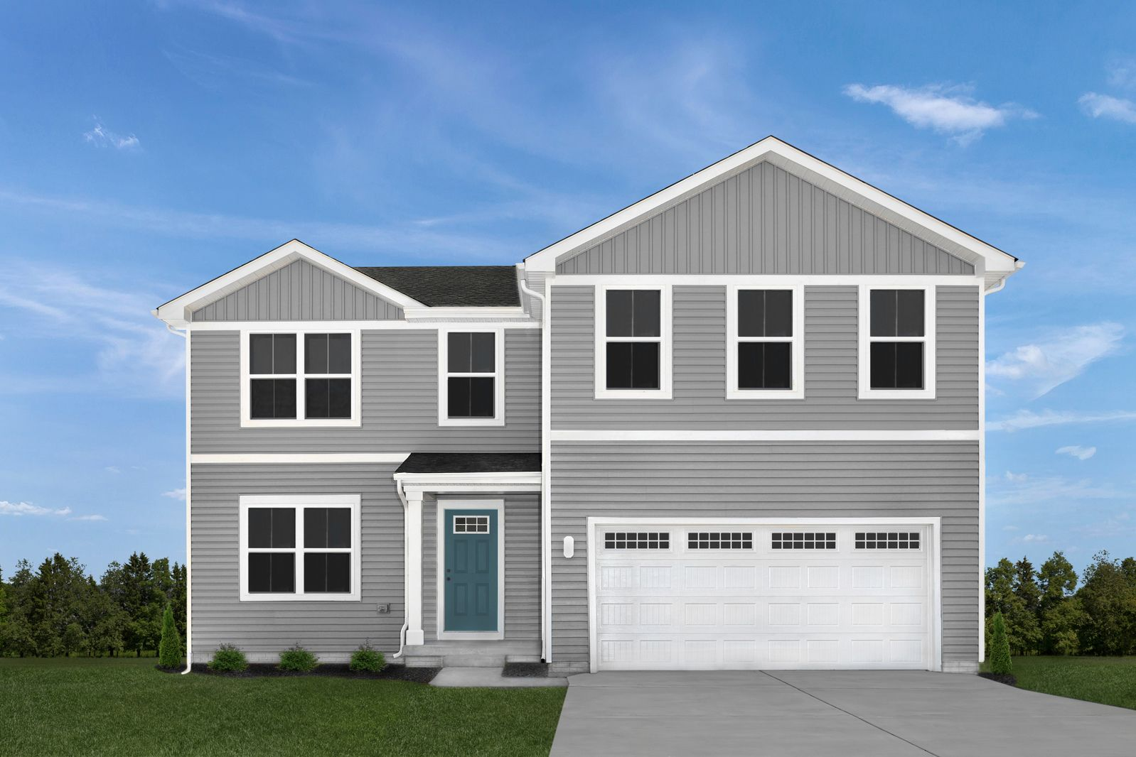 Exterior featured in the Elm By Ryan Homes in Dayton-Springfield, OH