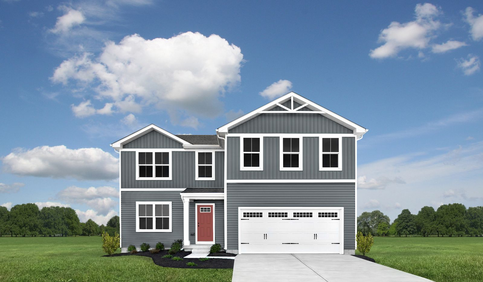 Exterior featured in the Elm By Ryan Homes in Buffalo-Niagara Falls, NY