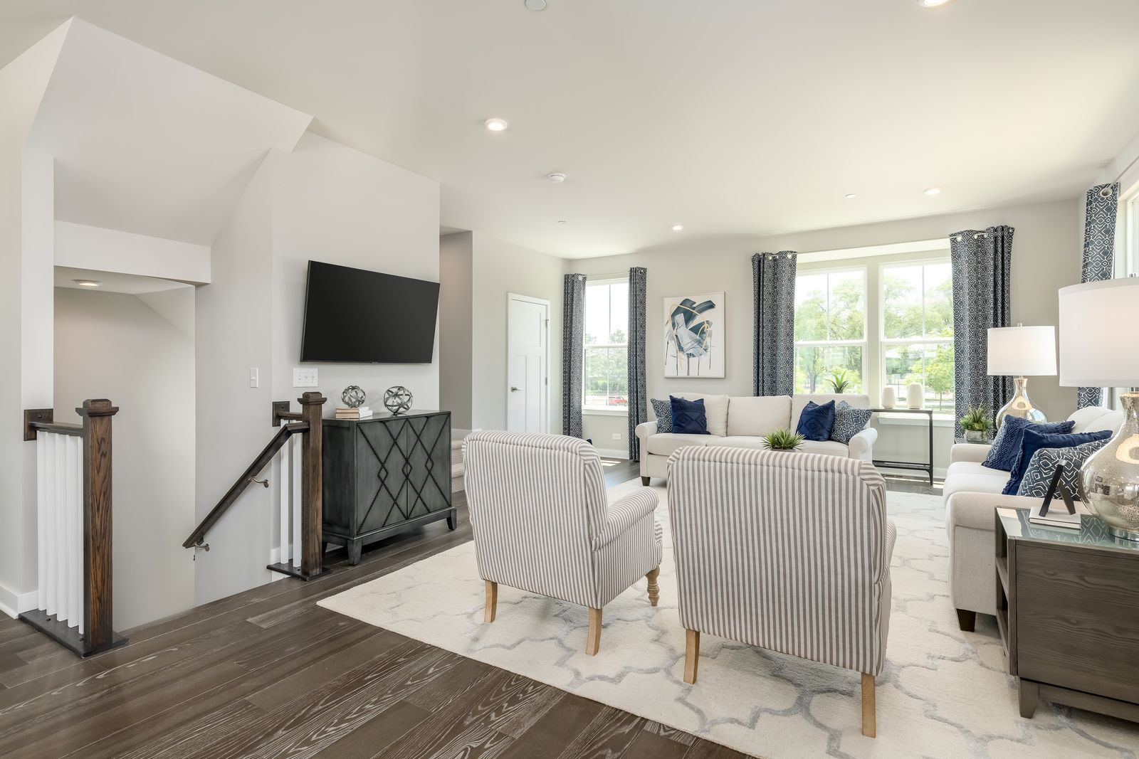 Living Area featured in the Mendelssohn By Ryan Homes in Washington, VA