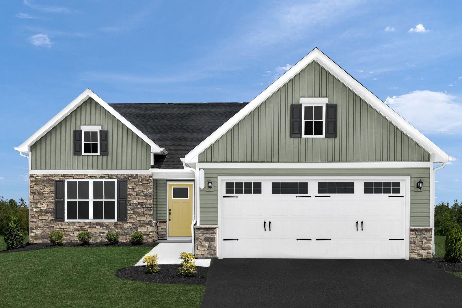 'Legacy Acres 55+' by Ryan Homes-NJS in Philadelphia
