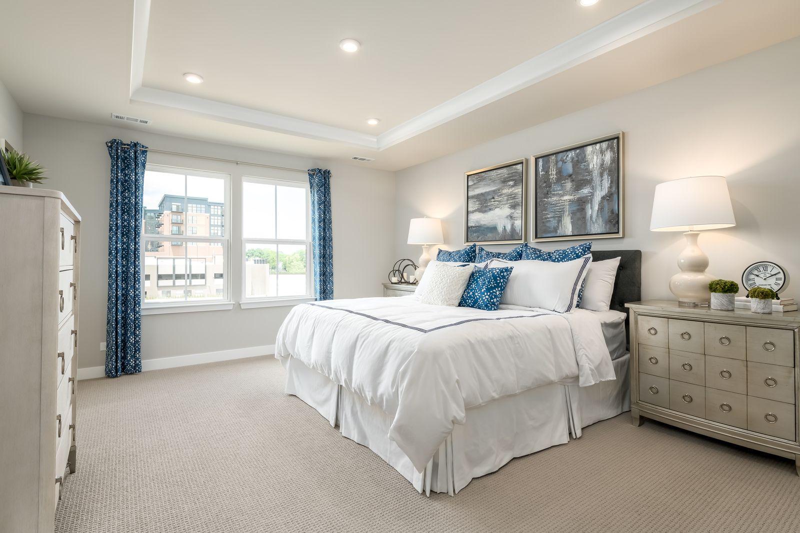 Bedroom featured in the Mozart 2-Car Garage By Ryan Homes in Richmond-Petersburg, VA