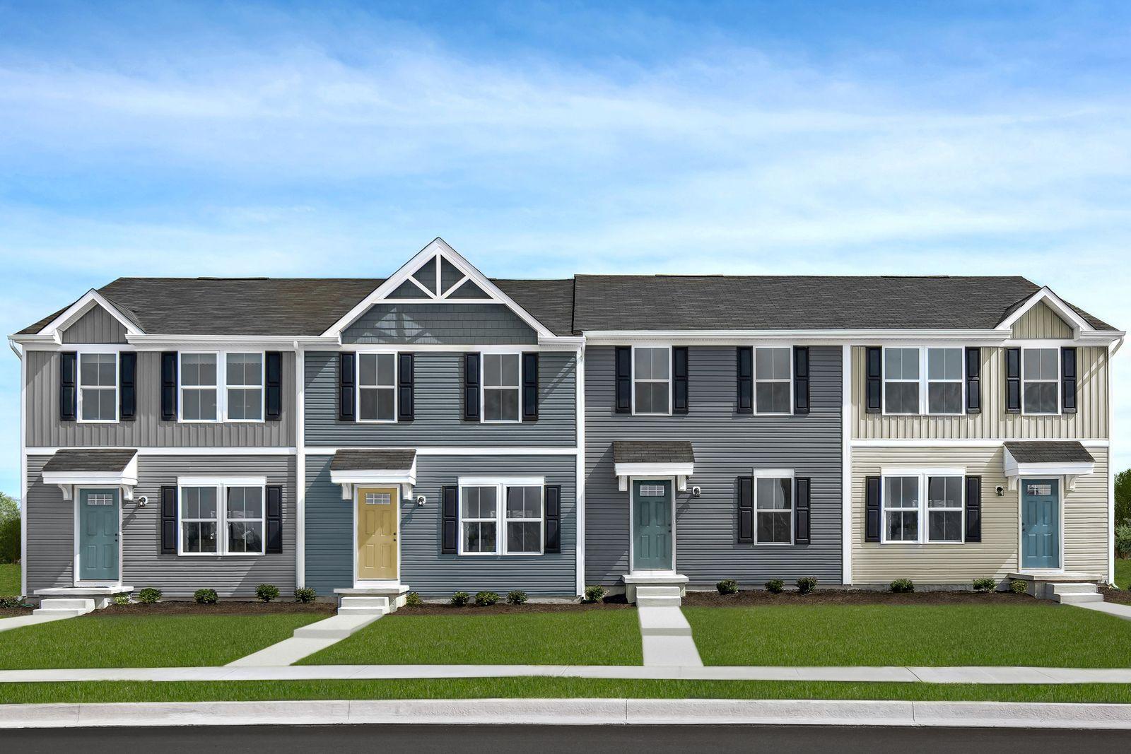 Exterior featured in the Juniper By Ryan Homes in Harrisonburg, VA