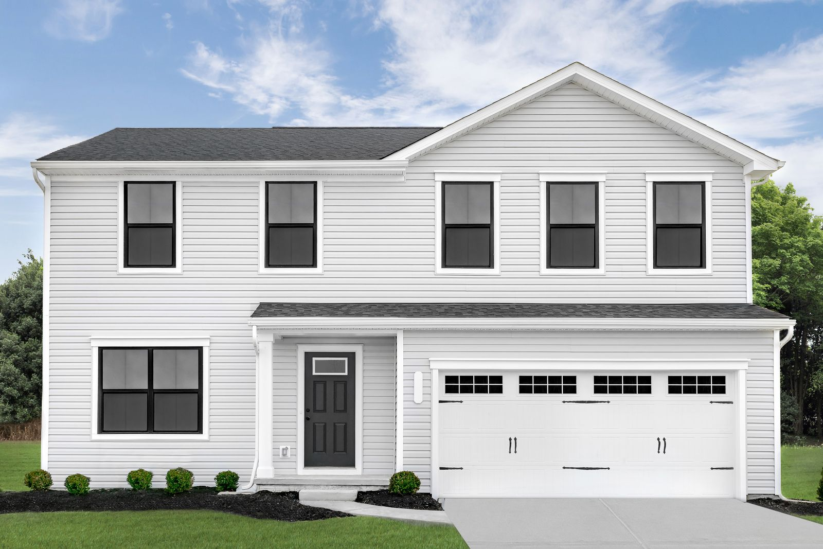 Exterior featured in the Cedar By Ryan Homes in Dayton-Springfield, OH