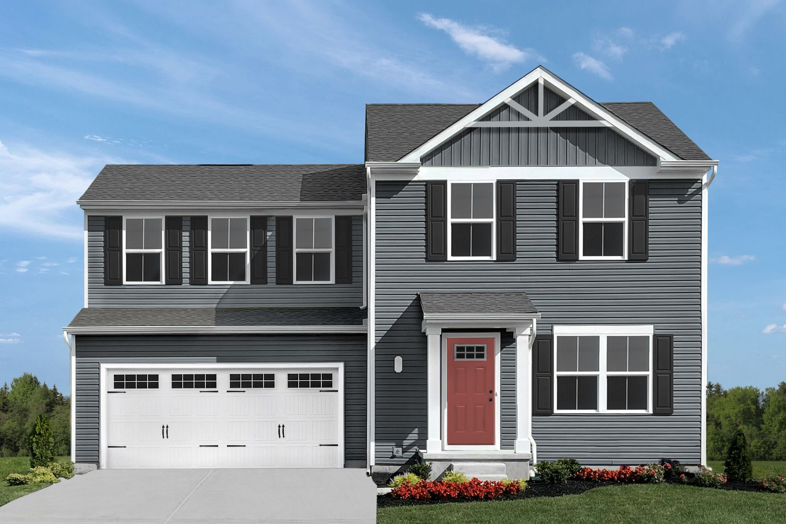 Exterior featured in the Aspen By Ryan Homes in Cleveland, OH
