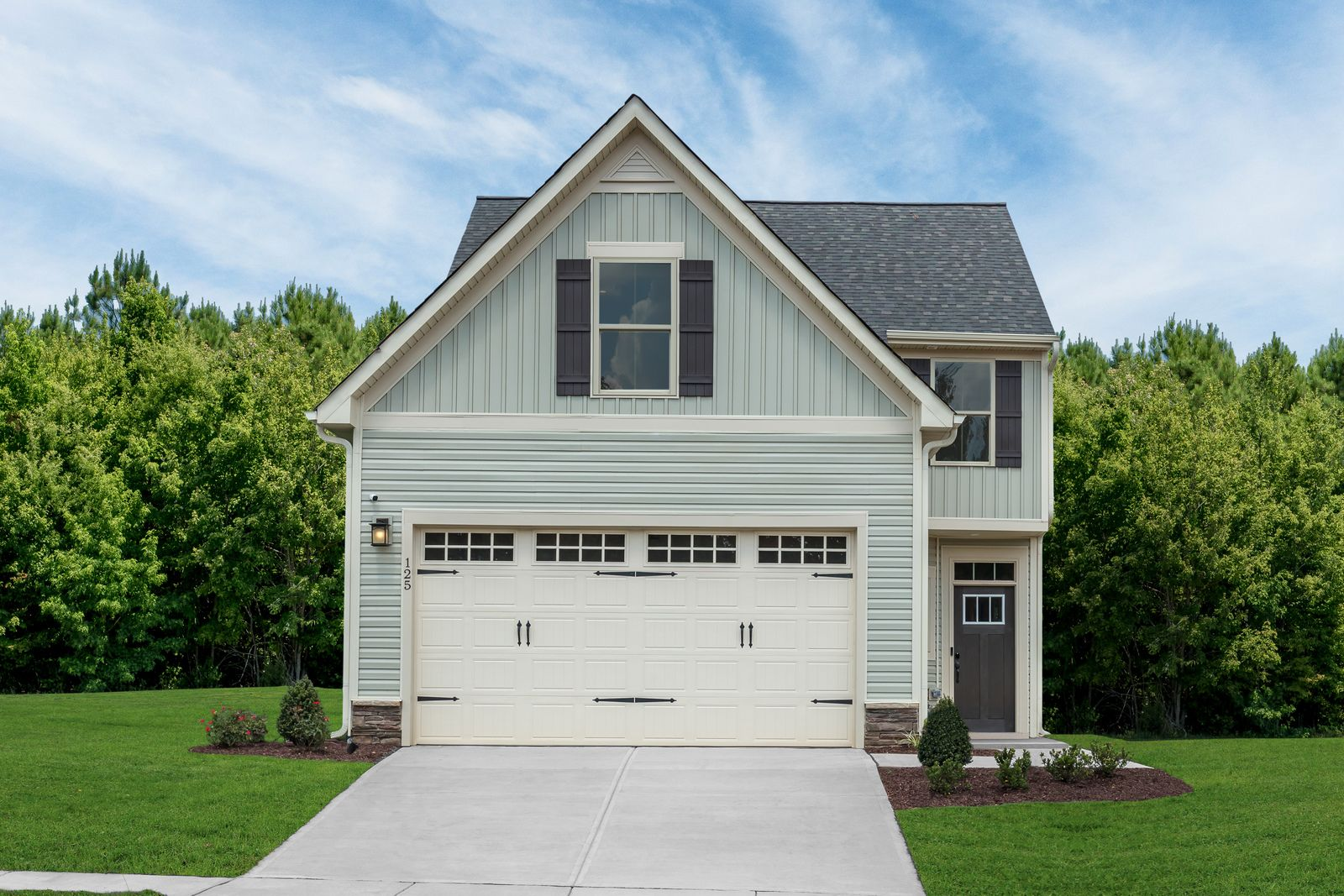 Exterior featured in the Calvert By Ryan Homes in Raleigh-Durham-Chapel Hill, NC