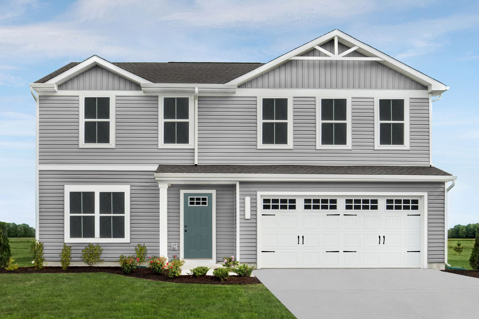Exterior featured in the Cedar By Ryan Homes in Cleveland, OH
