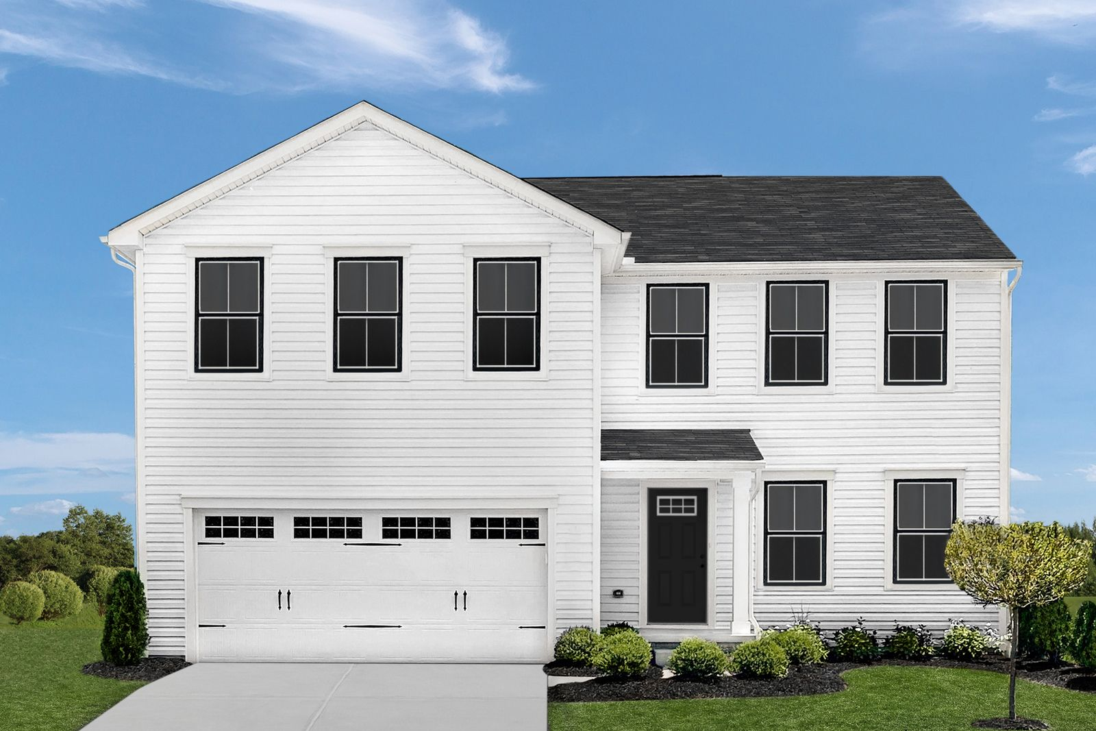 Exterior featured in the Elm By Ryan Homes in Cleveland, OH