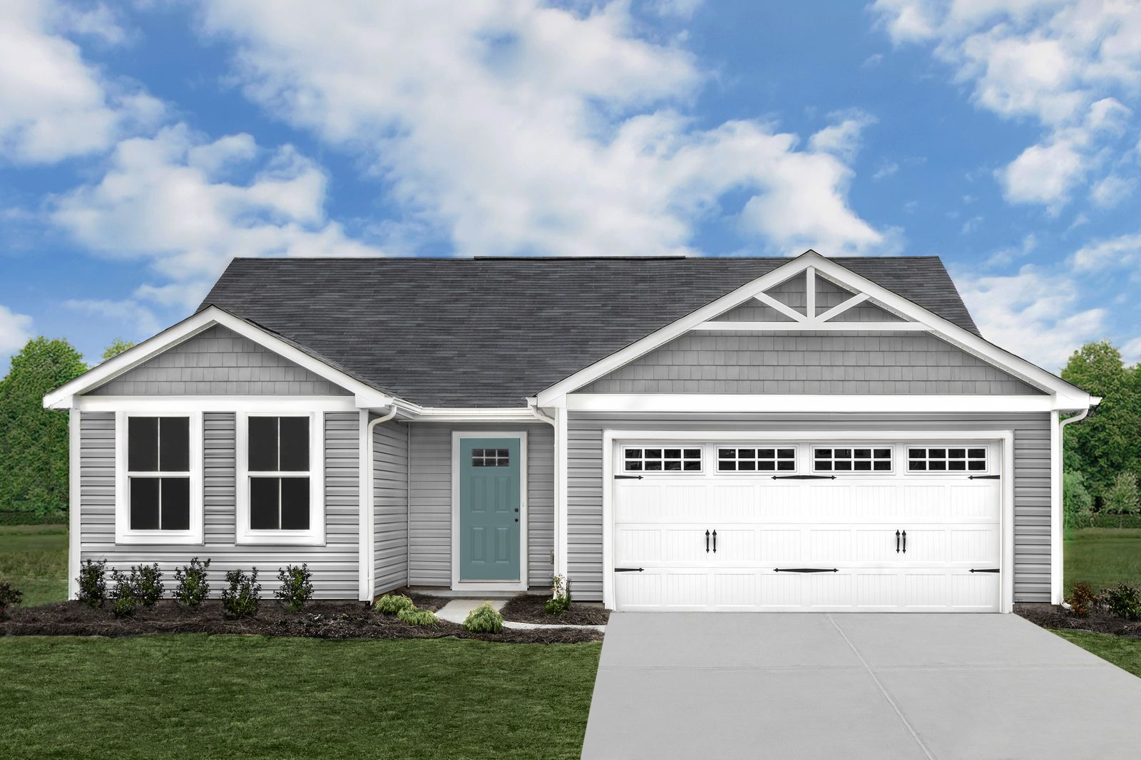 Exterior featured in the Spruce By Ryan Homes in Cleveland, OH
