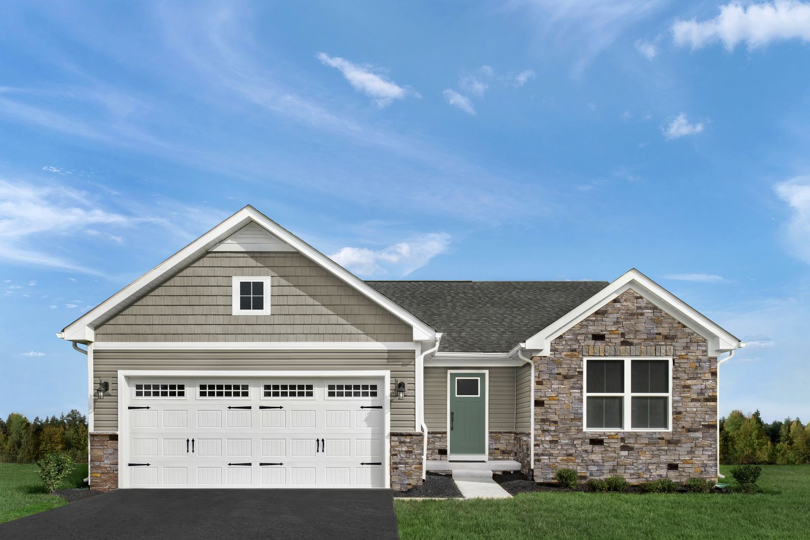 Exterior featured in the Grand Bahama By Ryan Homes in Indianapolis, IN