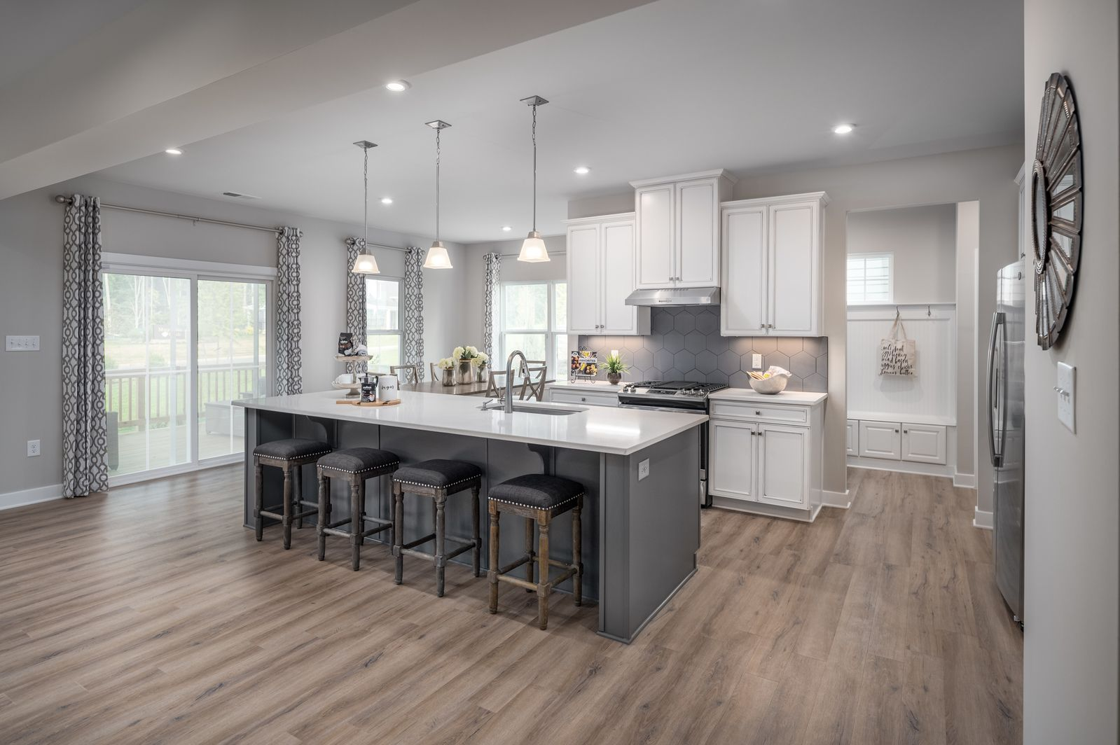 Kitchen featured in the Seneca at the Manor By Ryan Homes in Norfolk-Newport News, VA