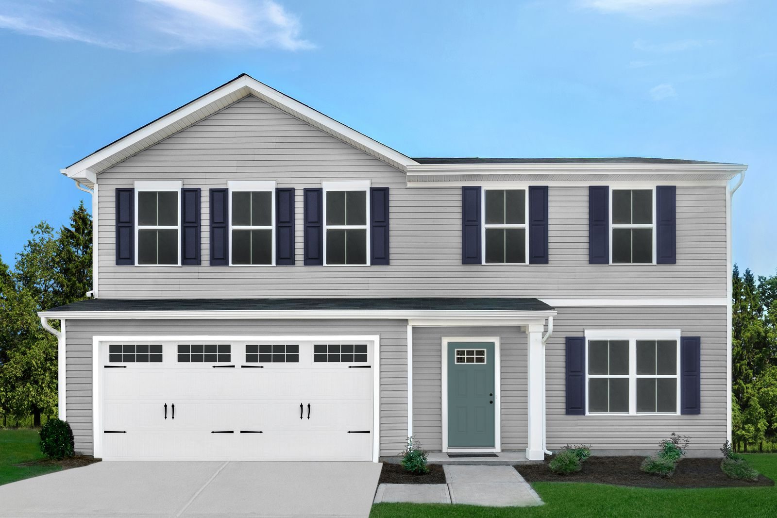 Exterior featured in the Cedar w/ Full Basement By Ryan Homes in Dayton-Springfield, OH