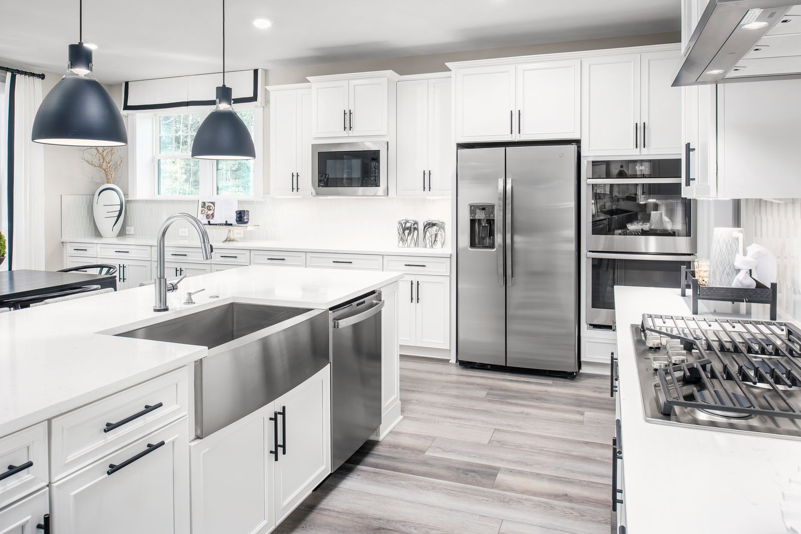 Kitchen featured in the Stratford Hall By NVHomes in Baltimore, MD