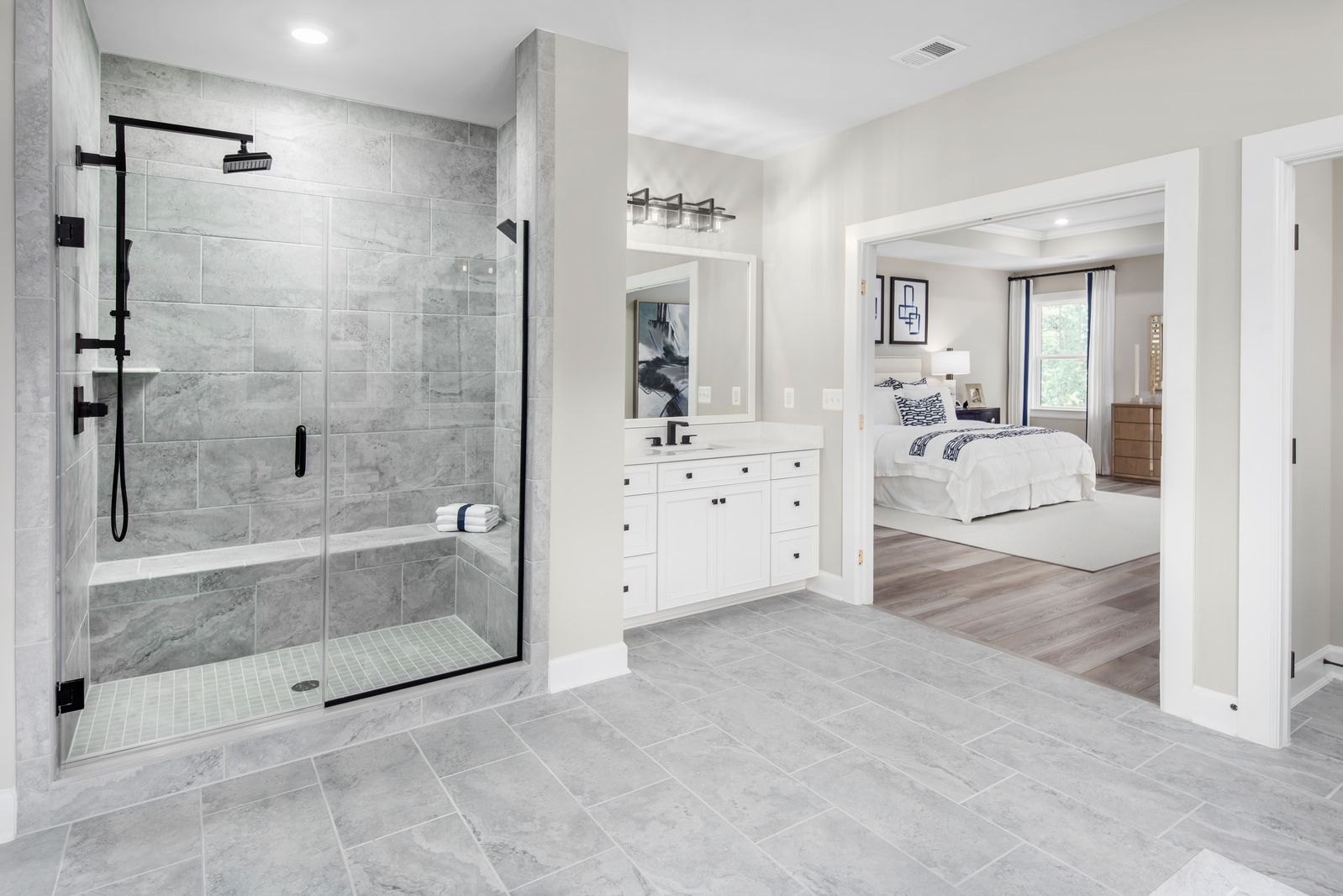 Bathroom featured in the Stratford Hall By NVHomes in Baltimore, MD