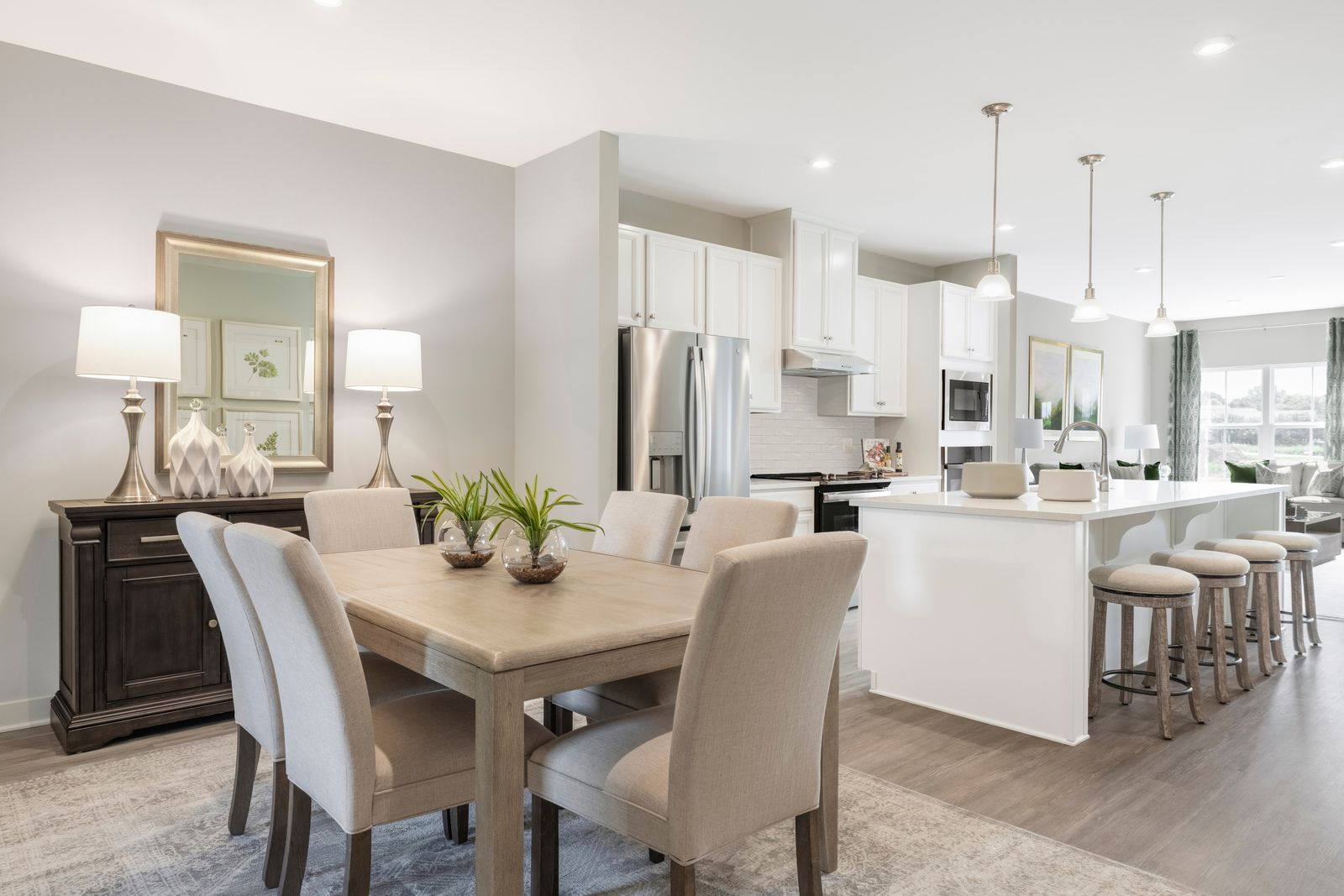 Kitchen featured in the Caroline By Ryan Homes in Rochester, NY