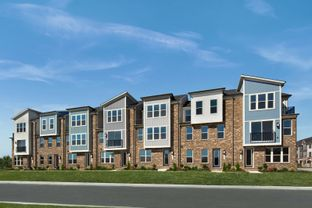 Spring Hill - Patuxent Greens Townhomes: Laurel, Maryland - NVHomes