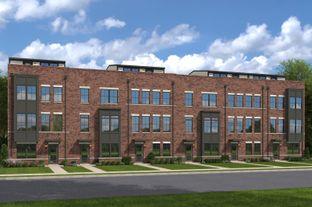 Strauss Urban 3 Story - Banner Row: Baltimore, Maryland - Ryan Homes