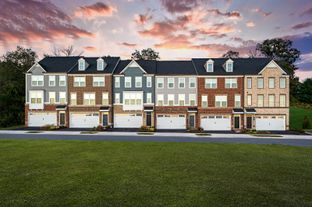 McPherson Grand Front Entry - Greenleigh Executive Collection: Middle River, Maryland - NVHomes