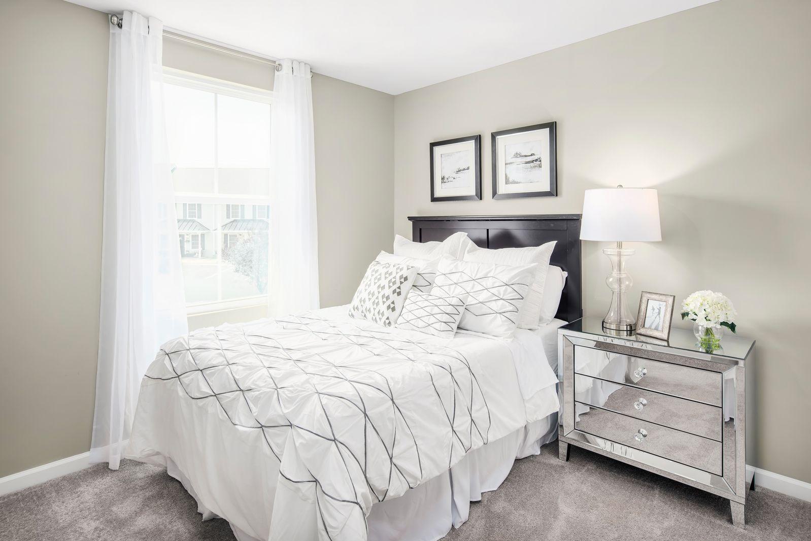 Bedroom featured in the Juniper Non Garage By Ryan Homes in Wilmington-Newark, MD