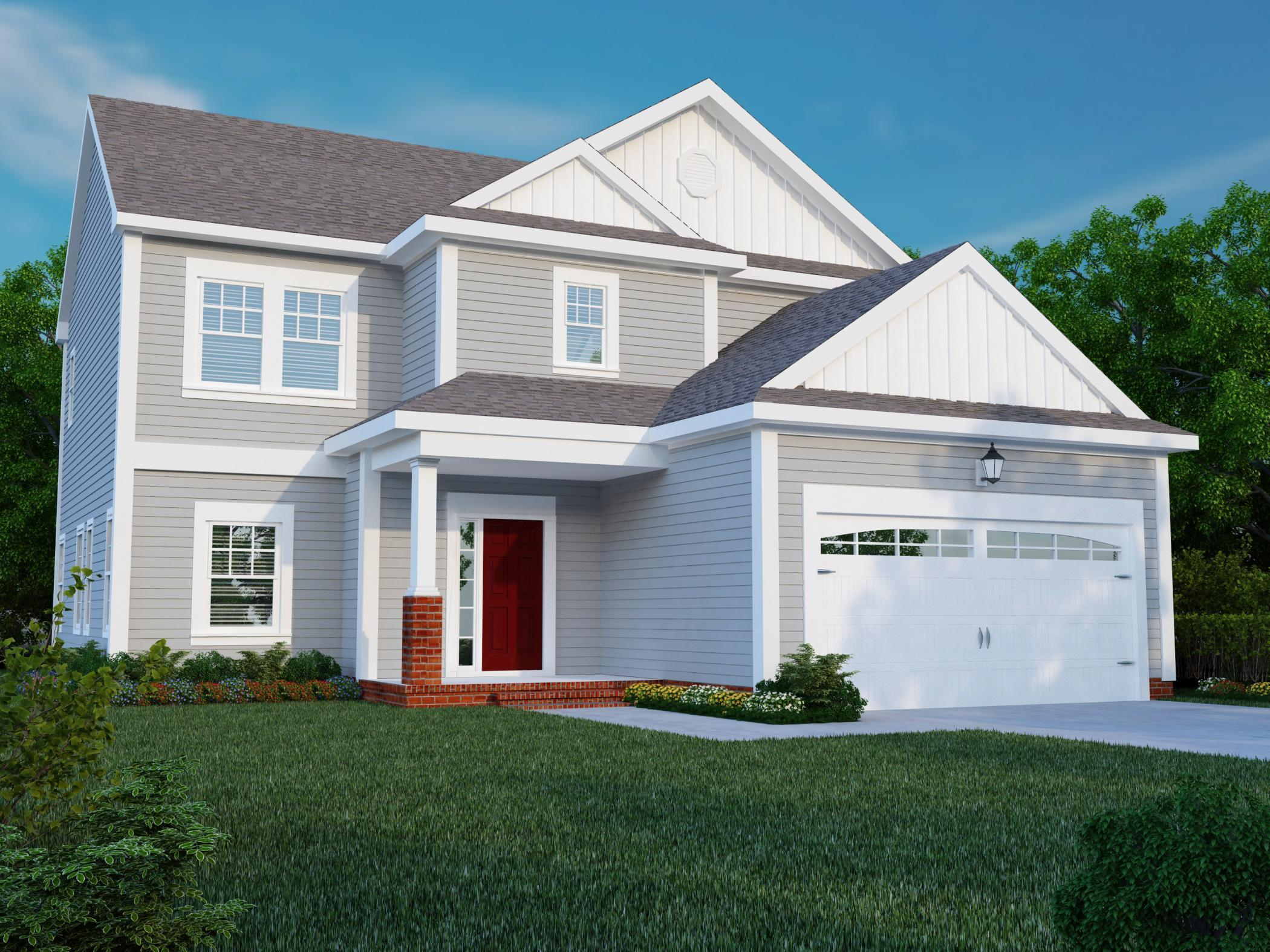 Exterior featured in The Byron By Napolitano Homes in Norfolk-Newport News, VA